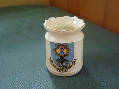 St Andrews Wavy Topped Vase - Crested China