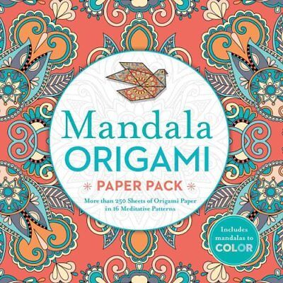 Mandala Origami Paper Pack More than 250 Sheets of Origami Pape... 9781435164369