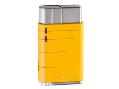 XIKAR Linea Single Jet Cigar Lighter - Yellow - 503YL - New