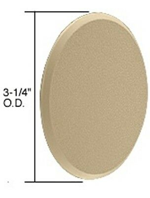 """Ivory 3-1/4"""" Round Wall Protector"""