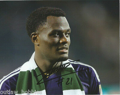 Orlando City SC Cyle Larin Autographed Signed MLS 8x10 Photo COA