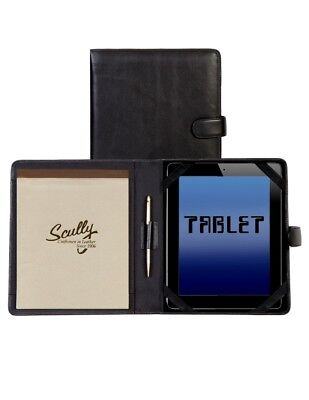 Scully Western Organizer Soft Plonge Tablet Magnetic Padfolio 57-11