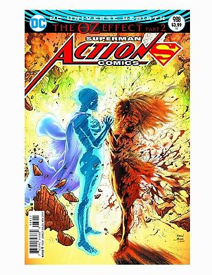 ACTION COMICS #988, LENTICULAR COVER, New, First print, DC REBIRTH (2017)
