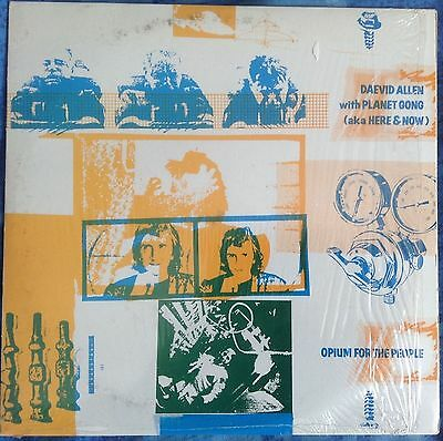 "DAEVID ALLEN & PLANET GONG - Opium For The People - 10"" Charly Records CYX 202"