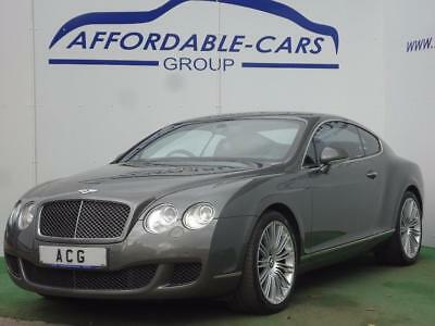 2008 Bentley Continental 6.0 Speed W12 GT 2dr