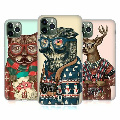 HEAD CASE DESIGNS HIPSTER ANIMALS IN SWEATERS GEL CASE FOR APPLE iPHONE PHONES