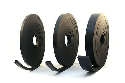 RUBBER STRIP 10.0mm thick  - BLACK GENERAL PURPOSE SOLID NEOPRENE