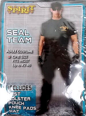 Spirit Adult Costume Seal Team One Size Fits Most Up To 42-46 #H101