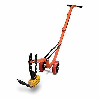 Allegro 9401-25 Magnetic Manhole Lid Lifter, Steel Dolly, 660 lb Flat Items