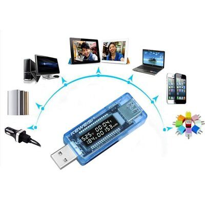 USB Volt Current Voltage Doctor Charger Capacity Tester Meter Power Bank ye