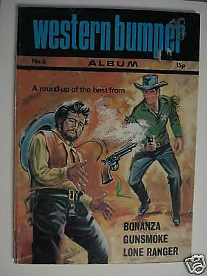 WESTERN BUMPER ALBUM No. 6 PRINTED IN ITALY 1972
