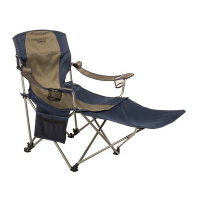 Kamp-Rite Outdoor Folding Tailgating Camping Chair with Detachable Footrest