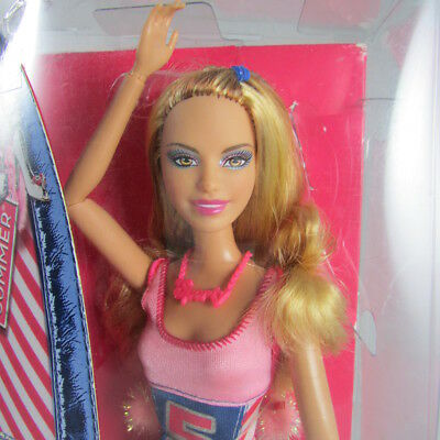 2011 Barbie Fashionistas Doll Summer Articulated Poseable New in Box