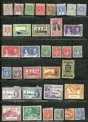 ST LUCIA--Lot of 66 different stamps