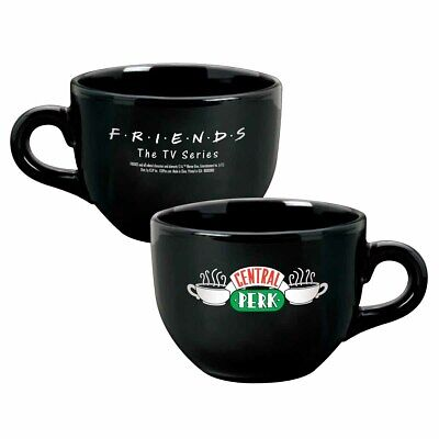Friends Central Perk Ceramic Coffee Mug Black