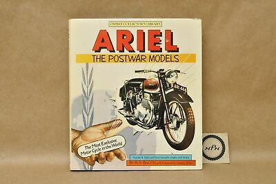 Vtg 1983 History Of Ariel Post War Models Square 4 Single Twins HC Book By Bacon