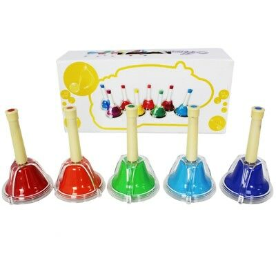 A-Star Hand Bells Set of 5 - Black Notes