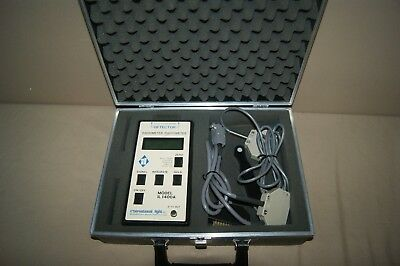 International Light IL1400A Radiometer Photometer with SCL110 Illuminance Probe