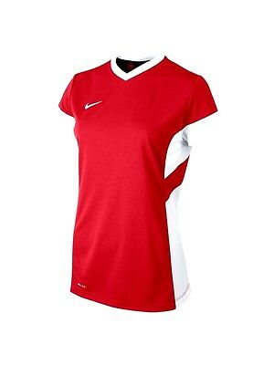 Nike Academy Short/sleeve Training Top Red Womens/Girls 616604-657 -Small