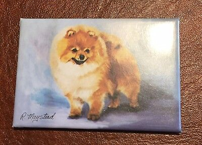 Best Friends Ruth Maystead Magnet NEW POMERANIAN