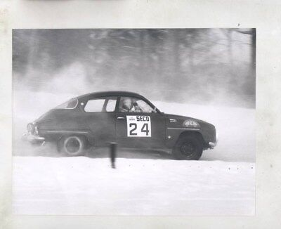 1967 ? Saab Secomet Rally Race Car ORIGINAL Factory Photograph wy6198