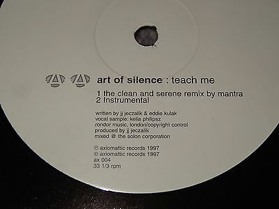 Art Of Silence Teach Me Sasha John Digweed Northern Exposure 2 CLASSIC RARE 12""
