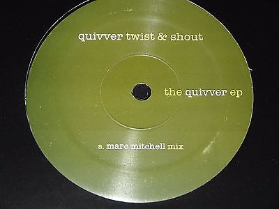Culture Club Quivver Twist Shout Unreleased Remixes Marc Mitchell RARE 2004 12""