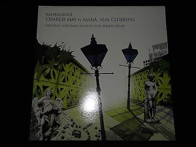Charlie May Vs Sasha Seal Clubbing James Zabiela Remix Renaissance 2006 NM 12""