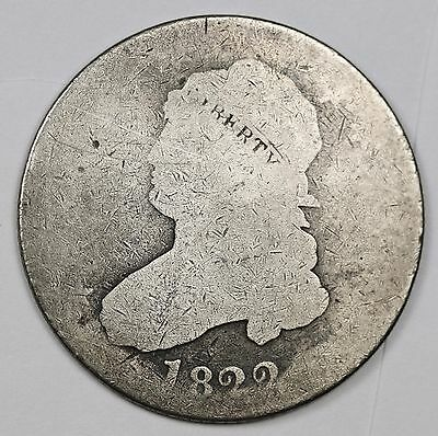 1822 Bust Quarter.  Circulated.  111928