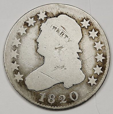 1820 Bust Quarter.  Good.  97673
