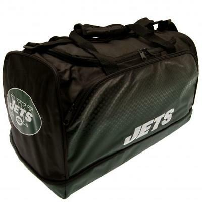 New York Jets NFL American Football Holdall Gym Luggage Kit Bag