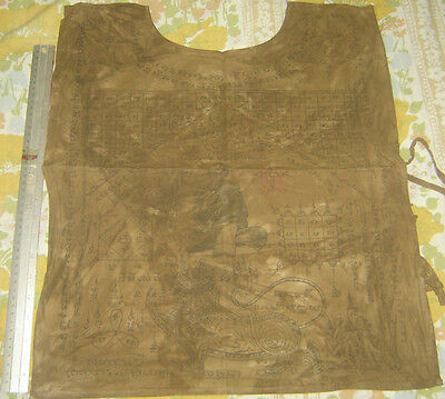"""Suaw-Yahn""Buddha Coat Holy Yantra Cloth""Lung Poo Durm Wat Nomgpow Temple Thai"