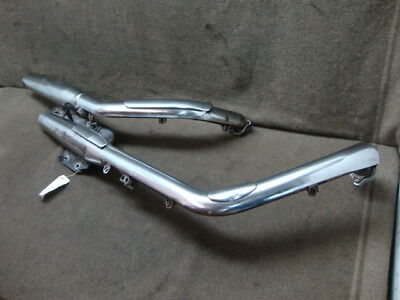 01 2001 Honda Vt1100 Vt 1100 Shadow Sabre Exhaust, Mufflers, Headers #ye4
