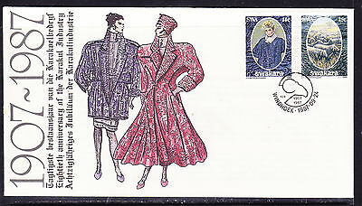 South West Africa  1987 Karakul Industry 80th Ann  First Day Cover - Unaddressed