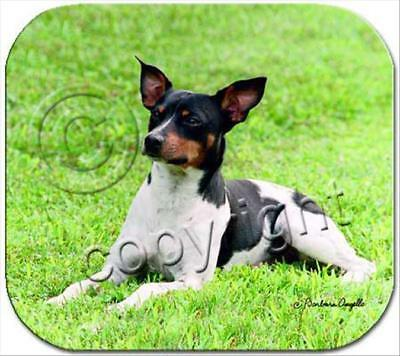 Rat Terrier Dog Computer MOUSE PAD Mousepad
