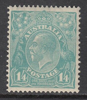 1928 1/4d TURQUOISE KGV small multiple watermark, Mint Never Hinged