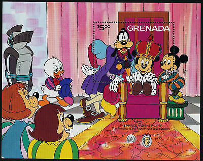 Grenada 1322 MNH Disney, The Prince and the Pauper