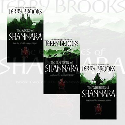 Shannara Chronicles Series 3 Books Collection Paperback English NEW