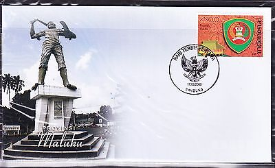 Indonesia 2008 - Provinces - Maluku First Day Cover