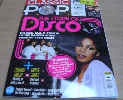 Classic Pop magazine Issue #33 Oct '17 The Story of Disco Sister Sledge Bee Gees
