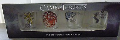 Game Of Thrones - Shot Glass Set Of 4