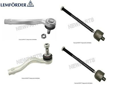 For Mercedes W210 E320 4Matic Pair Set of 2 Inner /& Outer Tie Rod Ends Mevotech