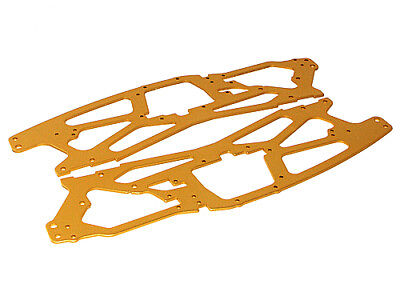 Hpi Racing Savage X 4.6 73916 Main Chassis 2.5Mm (Gold/2Pcs) - Genuine New Part!