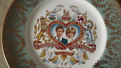 Liverpool Road Pottery, China Plate, Commemorate the Marriage of Lady Diana 1981