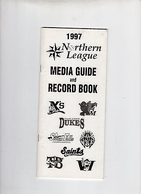 1997 Northern League Media Guide and Record Book
