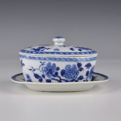A Chinese Porcelain 18th Century Qianlong Period Butter Tub
