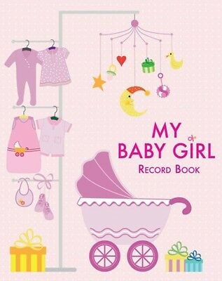 My Baby Girl: Record Book (Hardcover), White, Star, 9788854410237