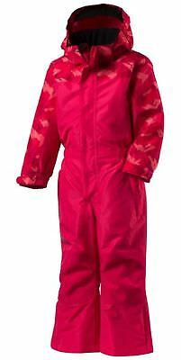 Mckinley small children's girl's snowsuit overalls TIGER Pink