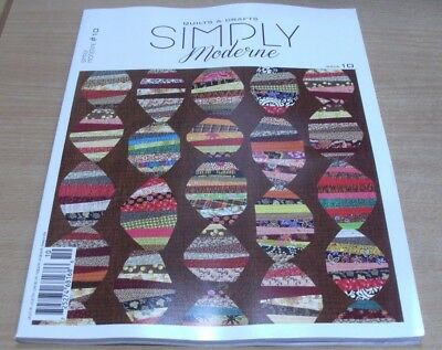 QuiltMania Simply Moderne Quilts & Crafts magazine #10 2017