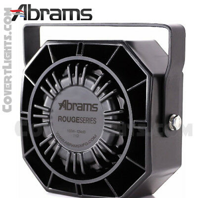 Abrams Rouge 100 Watt Siren Speaker High Performance